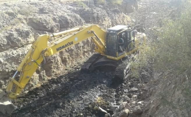 Manisa'da HİS gölet bakımlarına devam ediliyor