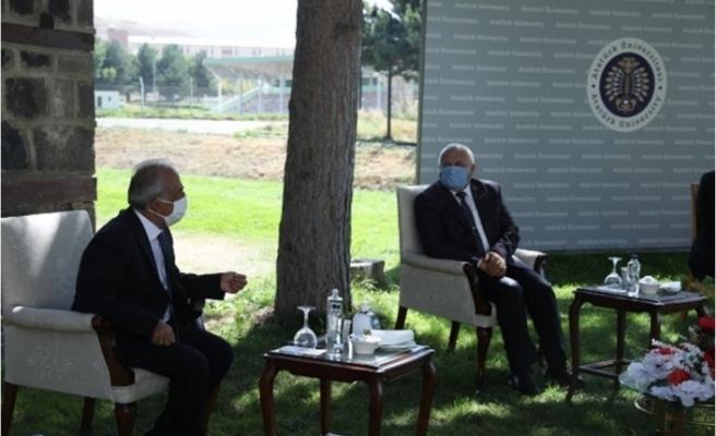 Mehmetçik Vakfı Pandemi döneminde de ziyaretlerini sürdürüyor