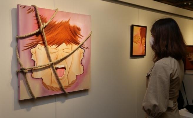 MGÜ Sanat Galerisi ''Rağmen'' isimli karma sergiyle açıldı