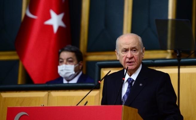 """MHP Genel Başkanı Bahçeli: """"Ermenistan'ın silahlı çeteleri ya Dağlık Karabağ'dan çekilecekler ya da ezileceklerdir"""""""