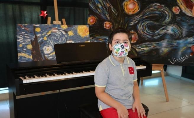 Minik piyanist, Cumhurbaşkanıyla buluşacağı anı bekliyor
