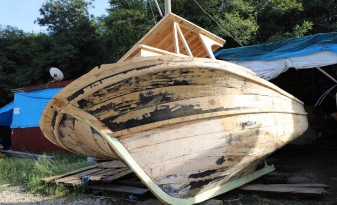 Ordu'da geleneksel ahşap tekne yapımı zamana direniyor