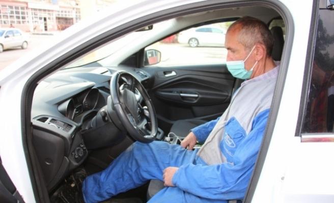Parkinson Hastası otomatik aracını tek pedalla sürüyor