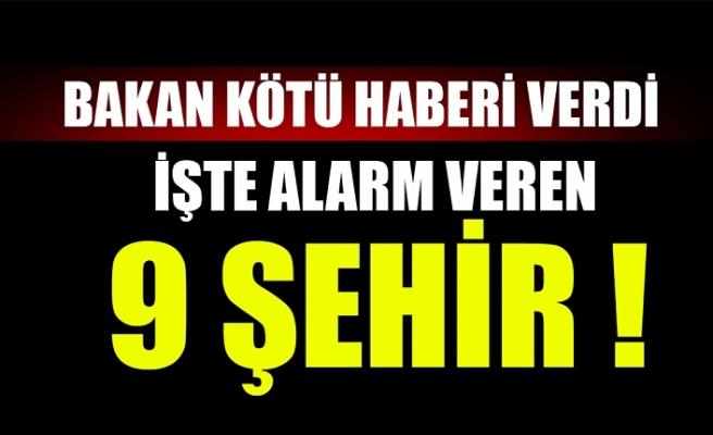 Sağlık Bakanı Fahrettin Koca kötü haberi verdi! İşte alarm veren şehirler