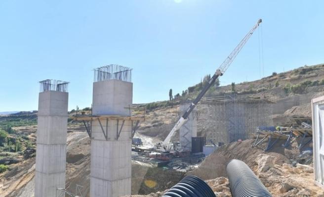 Şahnahan köprüsü bölgenin trafik yükünü hafifletecek