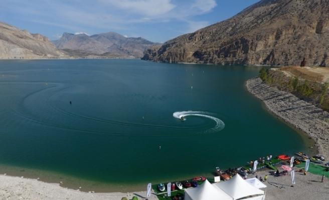Uzundere, Ulusal Su Sporları Etkinliğine ev sahipliği yaptı