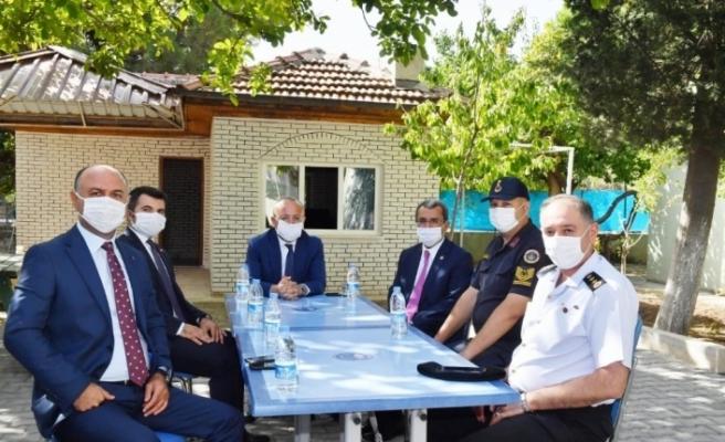 Vali Ali Fuat Atik, Çardak ve Bozkurt ilçelerini ziyaret etti