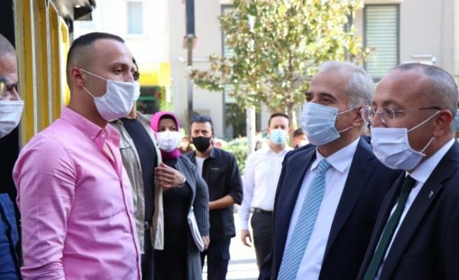 Vali Ali Fuat Atik tavrıyla takdir topladı