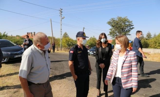 Vali Becel, Hacıbektaş ilçesine bağlı köyleri ziyaret etti