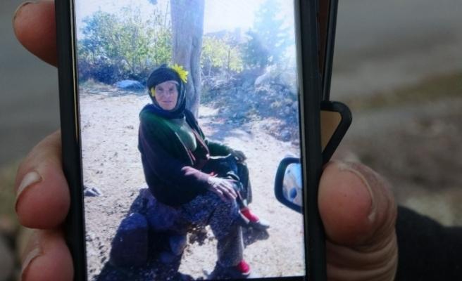 1 haftadır aranan yaşlı kadının tarlada ölü bulundu