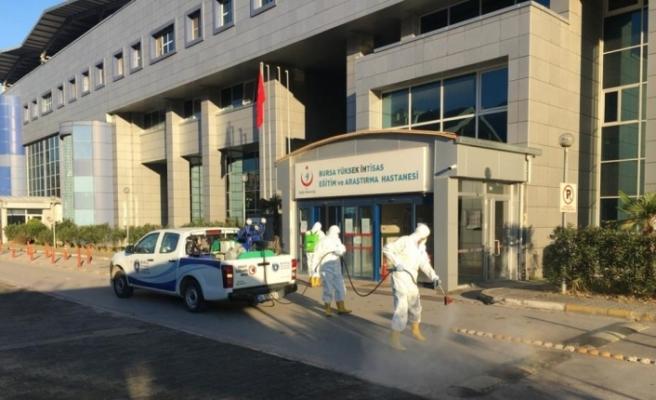 Bursa Büyükşehir'den hijyen seferberliği