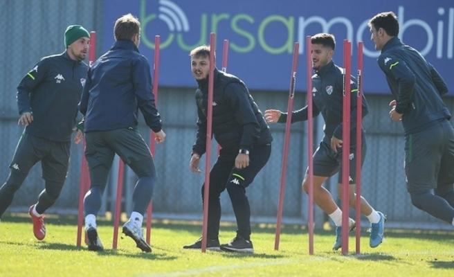 Bursaspor, Altay maçı hazırlıklarını tamamladı