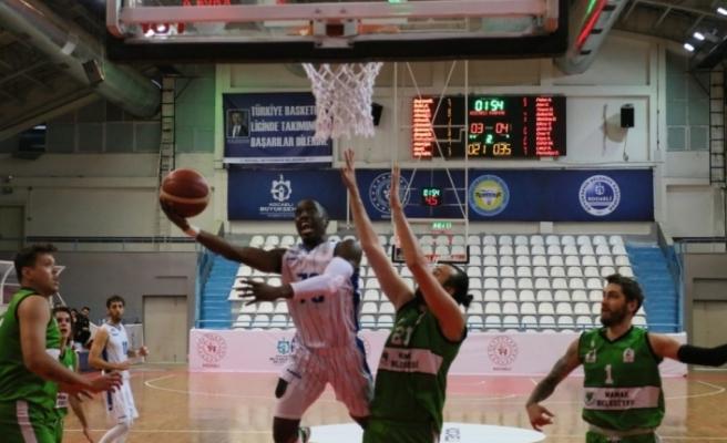 Erkekler Basketbol 1. Ligi: Kocaeli Büyükşehir Belediyesi Kağıtspor: 80 - Mamak Belediyespor: 91