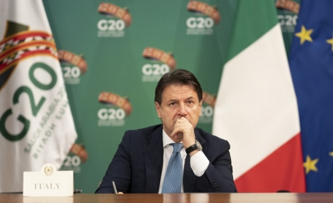 İtalya Başbakanı Conte, G20 Liderler Zirvesi'ne video mesaj gönderdi