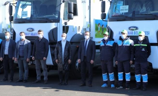 Kayapınar Belediyesi araç filosunu güçlendiriyor