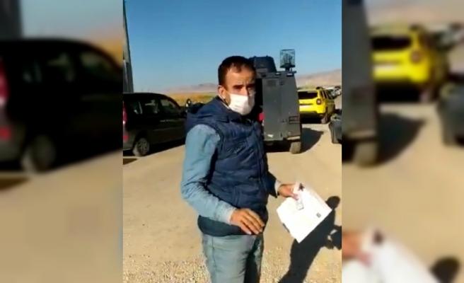 Kızıltepe polisi sınav giriş belgesini kaybeden adayın imdadına koştu