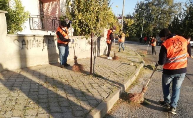 Nazilli'deki Mobil Temizlik Ekibi çalışmalara başladı