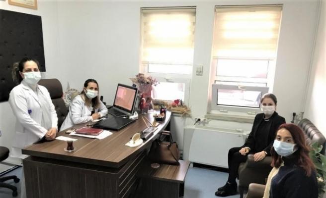 'AK Kadınlar'dan sağlık çalışanlarına destek