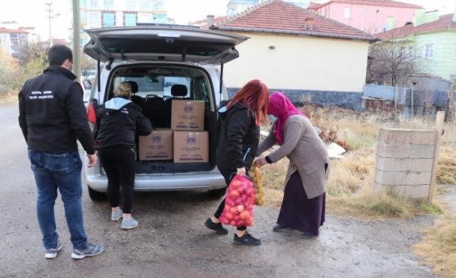 Aksaray Belediyesinden 50 bin aileye yardım