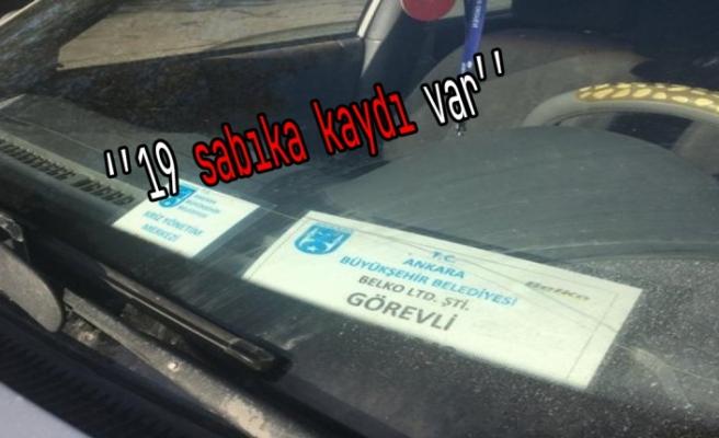 Ankara Büyükşehir Belediye şirketi çalışanı belediye aracıyla uyuşturucu sevkiyatı yaparken yakalandı