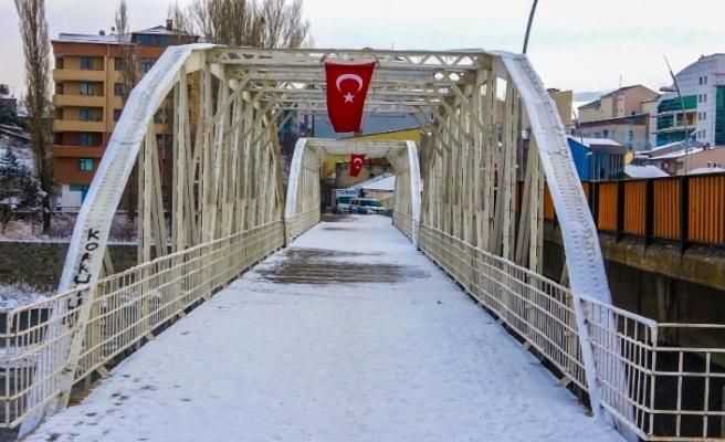 Ardahan'da sokağa çıkma kısıtlamasında cadde ve sokaklar boş kaldı