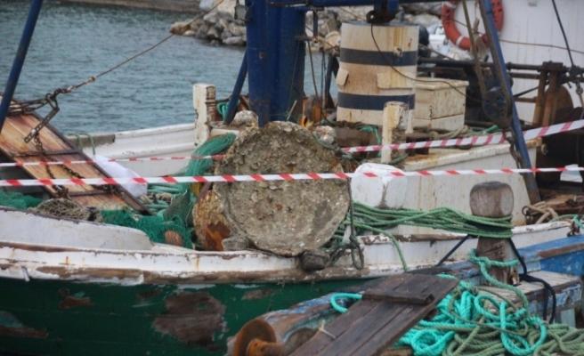 Balıkçıların ağına takılan cisim SAS komandolarını harekete geçirdi