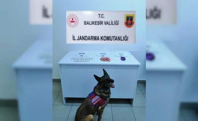 Balıkesir'de uyuşturucu operasyonu 2 şüpheli yakalandı