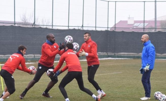 BB Erzurumspor, Gençlerbirliği maçı hazırlıklarını tamamladı