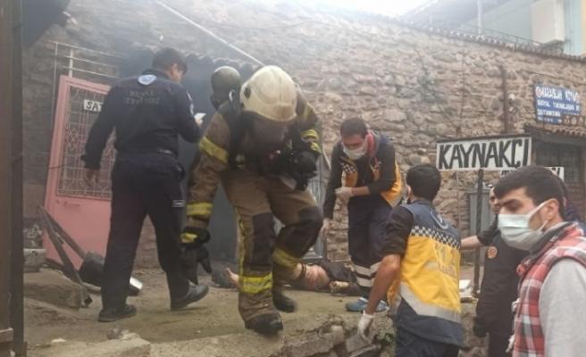 Bursa'da kaynakçıda patlama: 2 ağır yaralı