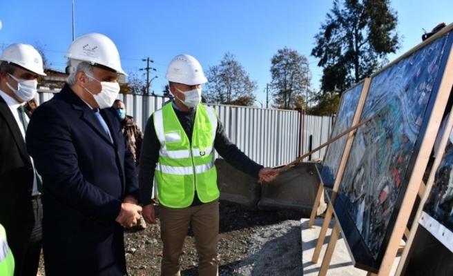 Çömlekçi Kentsel Dönüşüm Projesi'nin 1. etap çalışmaları sürüyor