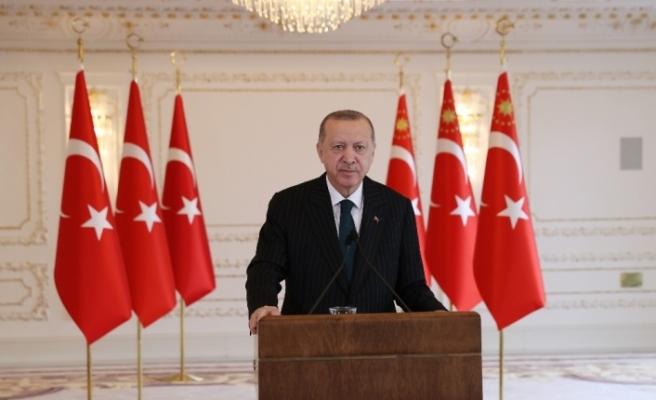 """Cumhurbaşkanı Erdoğan: """"Bizim siyasetimiz, hizmet etme siyasetidir"""""""