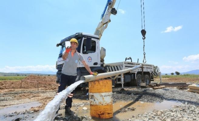 DESKİ 225 içme suyu sondaj kuyusuna imza atacak