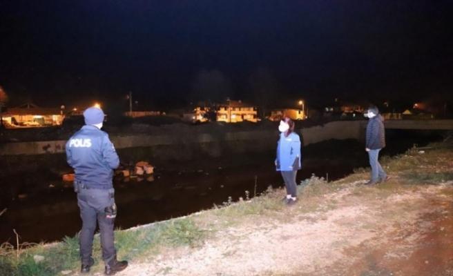 Düzce'de hava kirliliğine karşı gece denetimi yapıldı