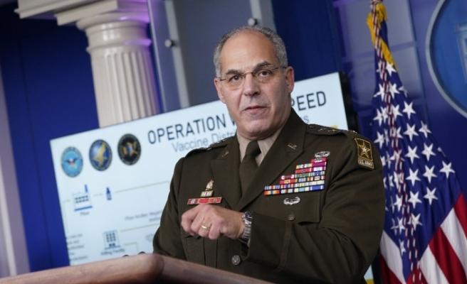 """General Gus Perna: """"Covid-19 aşıları pazartesi günü ABD'deki 145 tesise ulaşacak"""""""