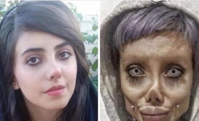 """İranlı """"zombi gelin"""" 10 yıl hapis cezasına çarptırıldı"""