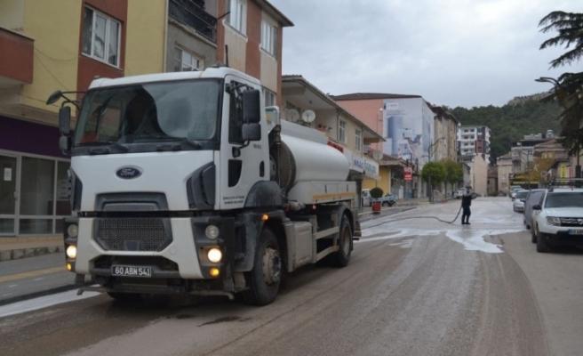 Kısıtlamada cadde ve sokaklar temizlendi