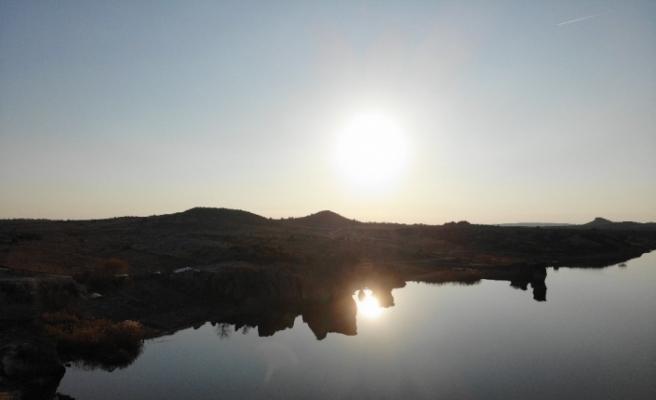 (Özel) Frigya'daki Emre Gölü 'Kapadokya' olma yolunda