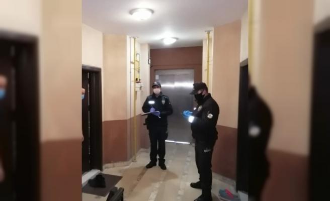 Samsun'da polis ve jandarma 15 bin 617 kişiyi evde denetledi