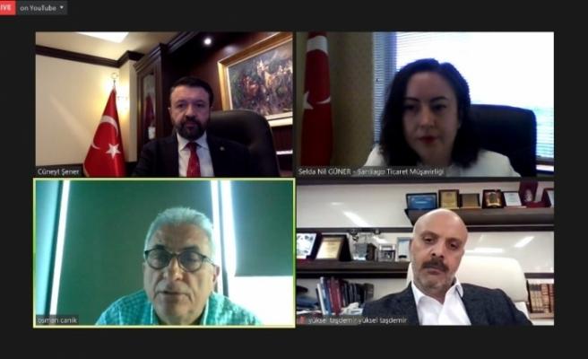 Şili pazarı ve ticaret fırsatları webinarı gerçekleştirildi