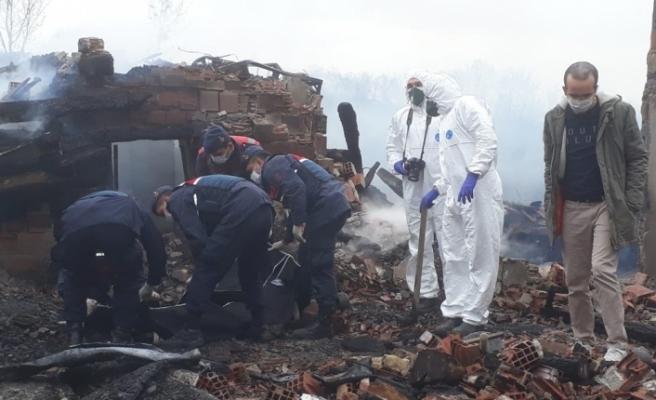 Sinop'ta yangın faciası: 2 kişi hayatını kaybetti