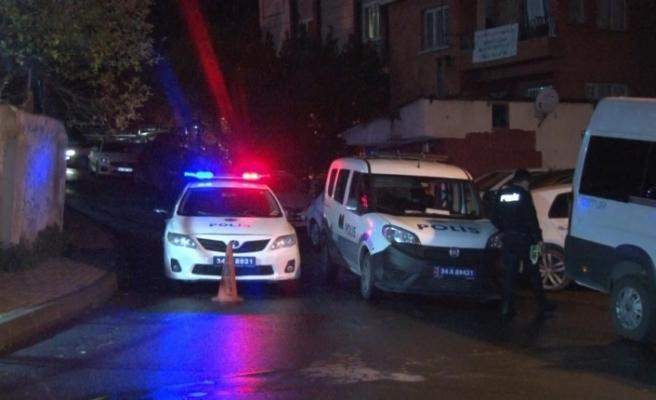 Şişli'de evde başlayan silahlı kavga sokakta bitti:1 yaralı