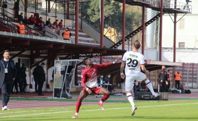 Süper Lig: A. Hatayspor: 1 - Fatih Karagümrük: 0 (Maç devam ediyor)