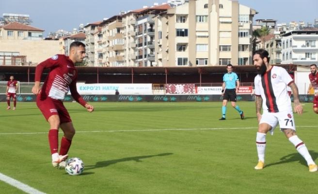 Süper Lig: A.Hatayspor: 1 - Fatih Karagümrük: 0 (İlk yarı)