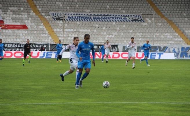 Süper Lig: BB Erzurumspor: 0 - Gençlerbirliği: 0 (İlk yarı)