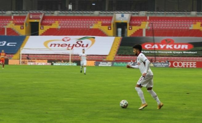 Süper Lig: Kayserispor: 0 - Trabzonspor: 0 (İlk yarı)