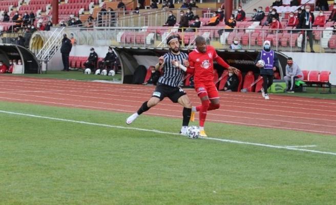TFF. 1. Lig: Balıkesirspor: 2 - Eskişehirspor: 2