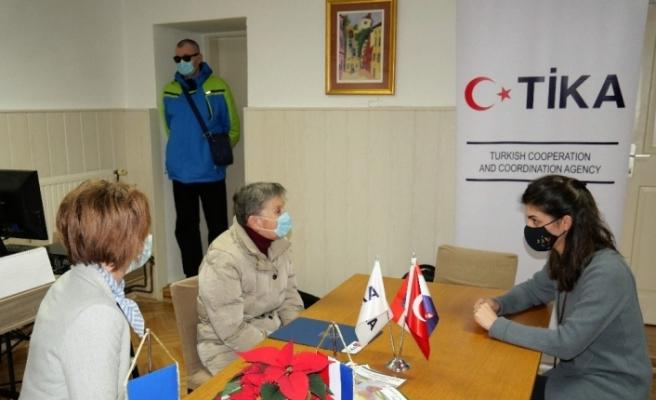 TİKA Hırvatistan'da görme engellilerin yaşamını kolaylaştırıyor