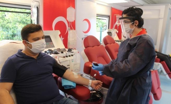 Van'da hafta sonu kısıtlamalarında kan bağışçıları muaf sayılıyor
