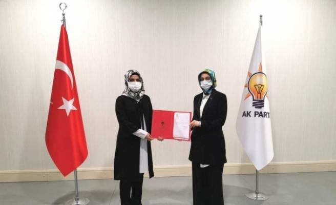 AK Parti Kadın Kolları Başkanı Saliha Diler oldu