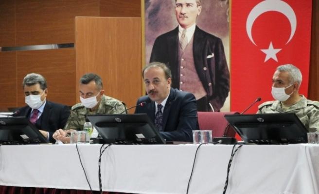 Barış Pınarı Bölgesindeki çalışmalar istişare edildi